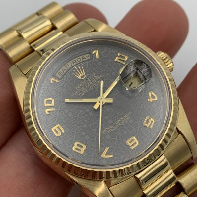 Rolex Day-Date 18238 Racing Dial 1989