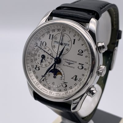 Longines Master Collection Chronograph L2.673.4.87.3 Moonphase 2007