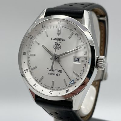 TAG Heuer Twin Time Calibre 7 WV2116 Full-Set 2006