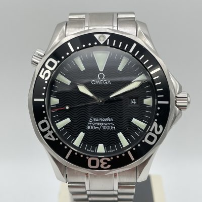 """OMEGA Seamaster 300M """"Schwerty"""" 2264.50.00 Box + Papers 2004"""