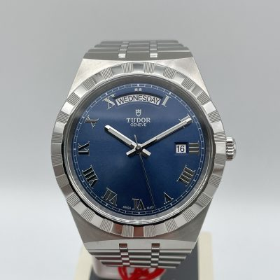 Tudor Royal 28600 Blue Dial 41 mm Box + Papers NEW 05/2021