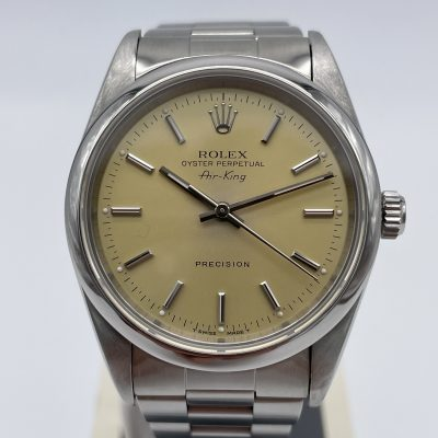 Rolex Air-King 14000 Champagner 1996