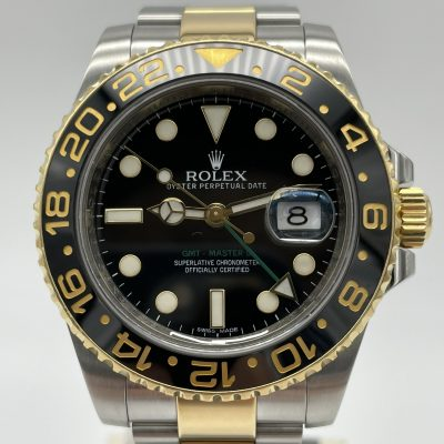 Rolex GMT-Master II 116713LN Bicolor Steel/Gold Box Papers 08/2011